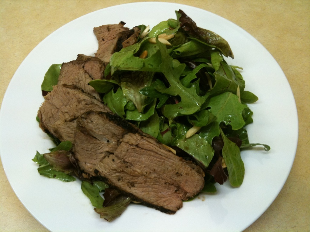 steak salad 6 27 11 ... up for a more modern audience. David Healy is a rather bland Dr. Watson, ...